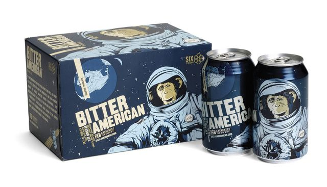 SF brewery 21st Amendment's packaging is outstanding. These are by far the coolest 6-packs around! #design #packaging #craftbeer