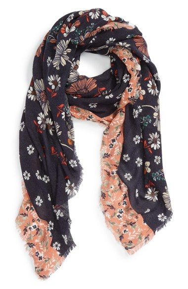 Hinge 'Rustic Floral' Scarf available at #Nordstrom