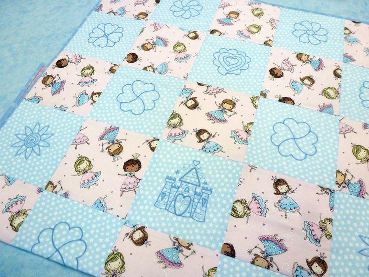 """Детское одеяло """"Моя принцесса"""" 122х88 см, 100% хлопок"""