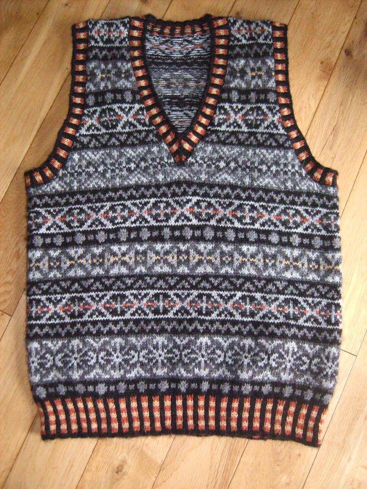 Work Sock Sweater Knitting Pattern : Fair isle stranded colorwork handpicked ideas to