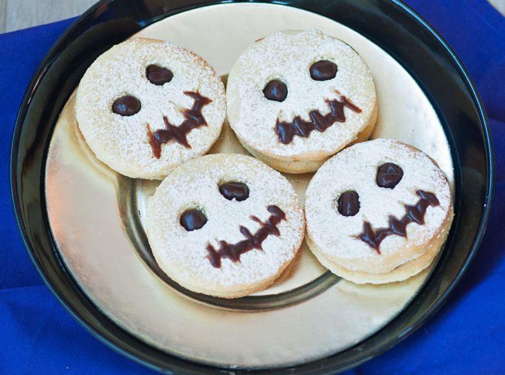 Biscotti fantasma per Halloween