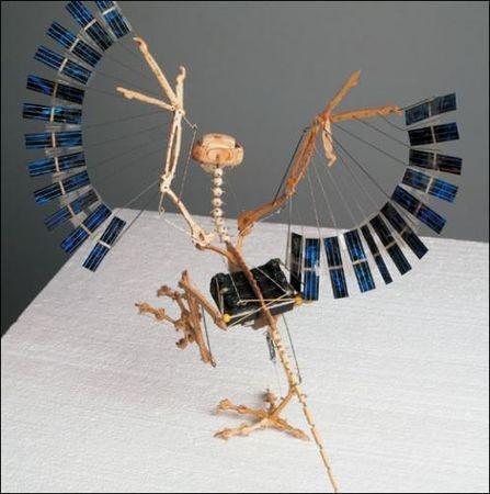 Panamarenko sculpture