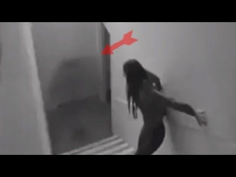 Top 5 Scary Ghost Attack Footage - YouTube