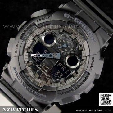 BUY Casio G-Shock Camouflage Black Analog Digital Display Watch GA-100CF-1A, GA110BC - Buy Watches Online | CASIO NZ Watches