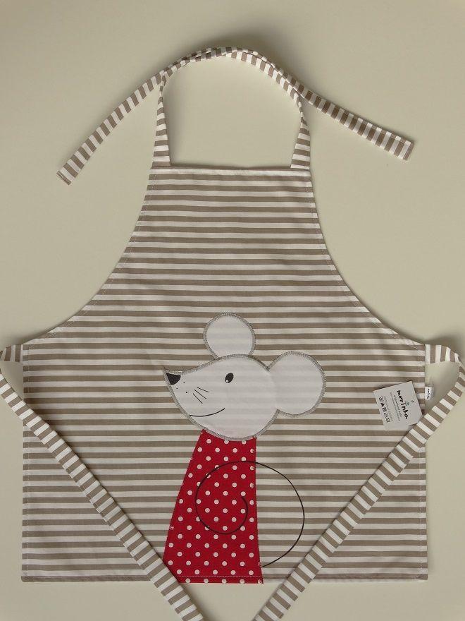Dětská zástěra s myškou