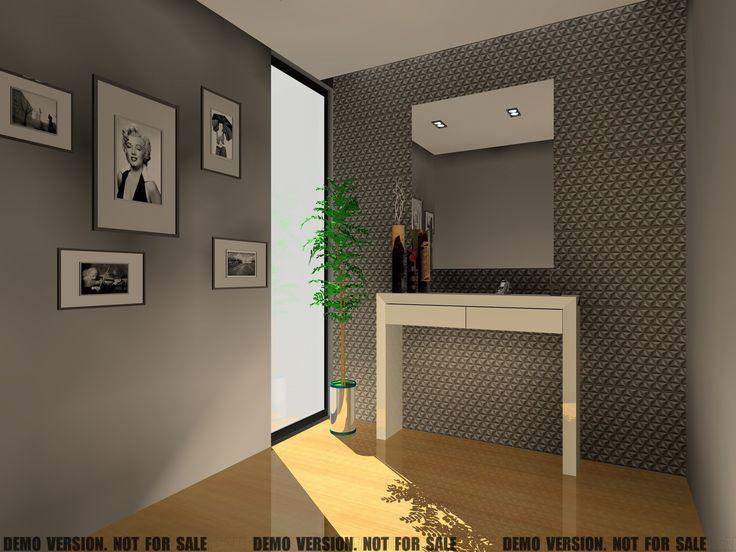 Faça a decoração de um hall de entrada em 3D utilizando o KDMAX, Softwar...