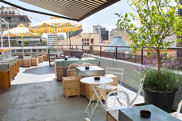 Fragile, Roof Bar, Valaoritou 29, Thessaloniki, Tel.2310547443