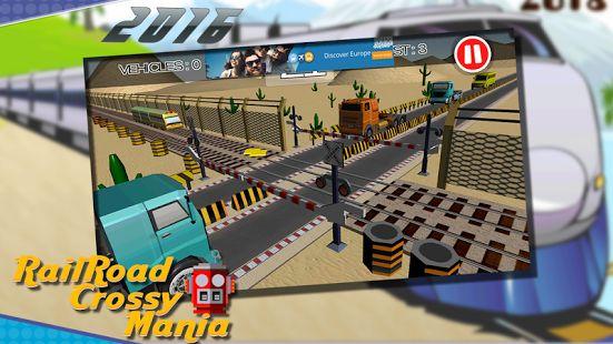 RailRoad Crossing Mania 🚅  🚅 Train Transport Simulator 🚅 Train Simulator 🚅 Rail Tracks Crossing