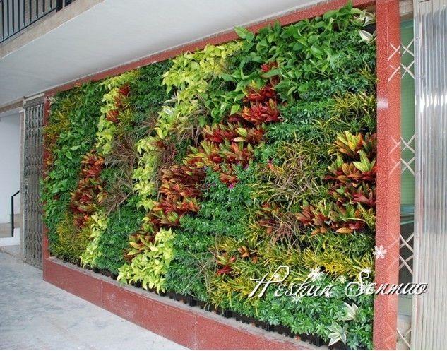 Wall Decor Greenery : Best artificial green wall ideas on