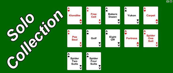 Gioca gratis online con questa collezione di giochi solitari di carte.