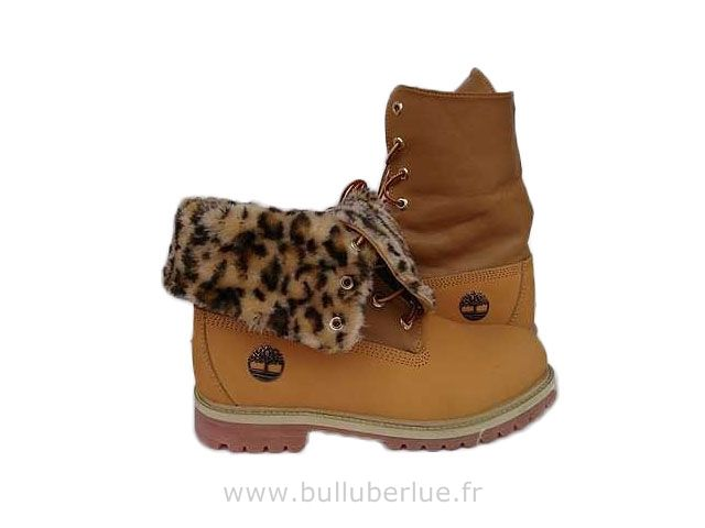 Timberland femme Roll Top Bottes Vente
