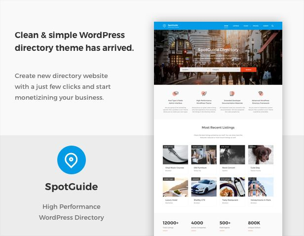7 best d keynote images on pinterest business powerpoint spotguide high performance directory wordpress theme toneelgroepblik