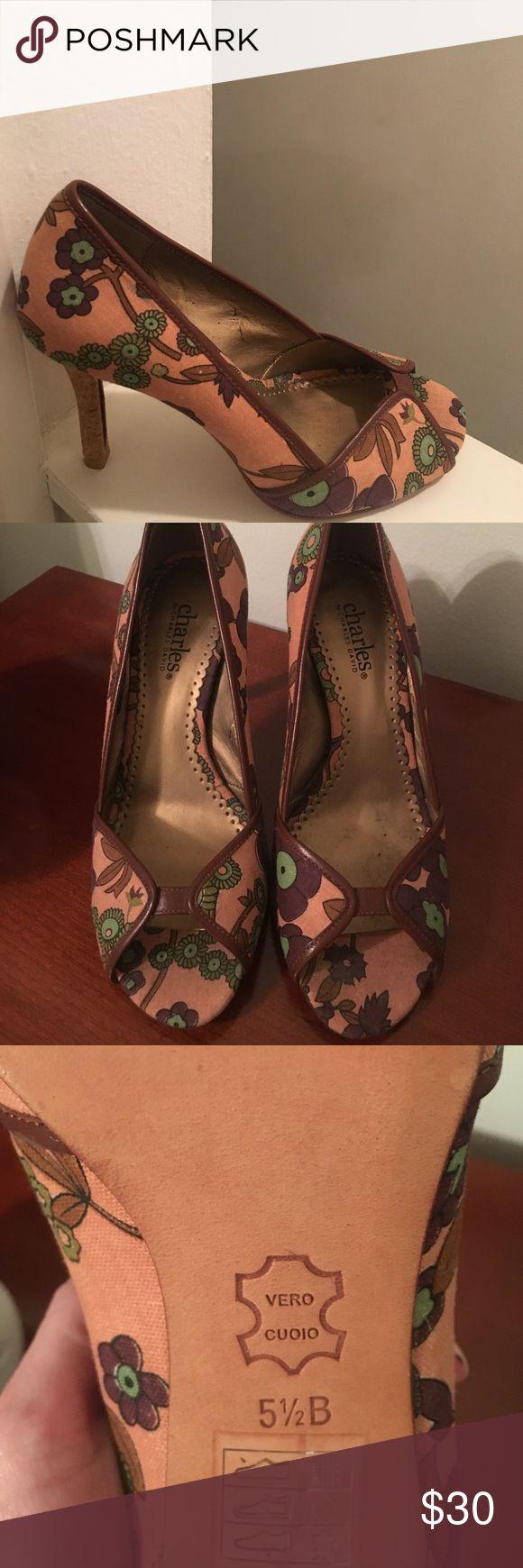 Charles David heels Great condition Charles David Shoes Heels