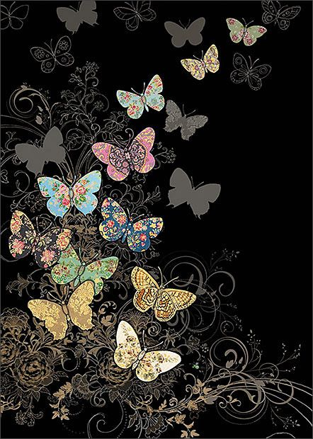 BugArt Jewels ~ Butterfly Flight. JEWELS Designed by Jane Crowther.