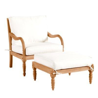 ceylon lounge chair u0026 ottoman with cushions ballard designsfor outdoor lounging furniture