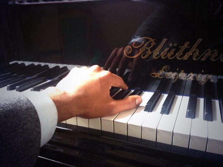 Pianist at work Chopin Barcarolle