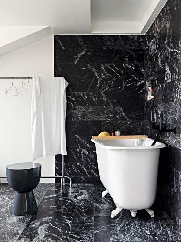 Look We Love Black Marble In The Bathroom Black Marble Bathroom Marble Tile Bathroom Marble Bathroom Floor