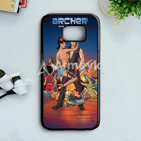 Archer Season 2 Samsung Galaxy S7 Edge Case | armeyla.com