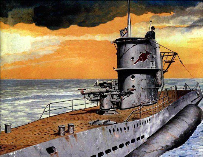 Рисунки кригсмарине на войне