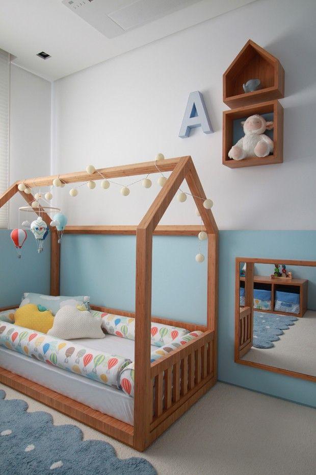 Cama montessoriana: aprenda a usar e se inspire em 8 ambientes   – Só para crianças