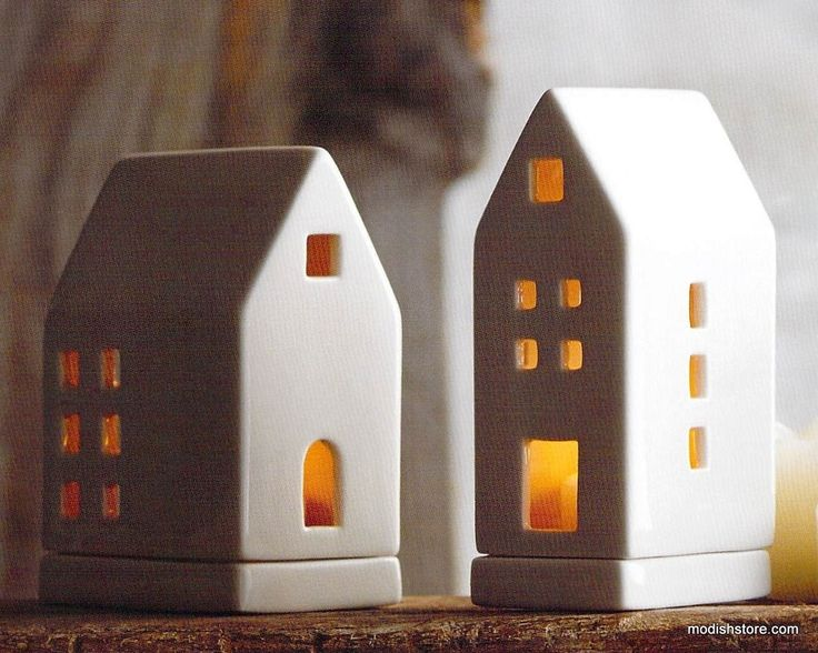 Roost Porcelain Tealight Houses – Modish Store