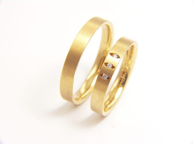 Kedvenc sárga arany karikagyűrű