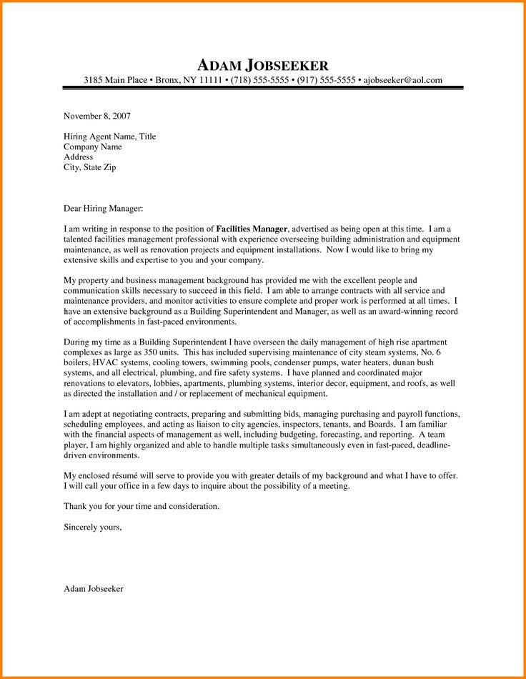 Maintenance Supervisor Resume Resume With Cover Letter Example - maintenance supervisor resume