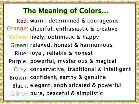 84 best the meaning of a color images on pinterest | color