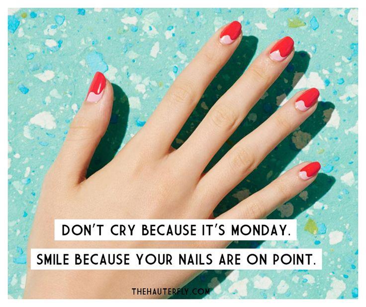 Come at me, Monday! HauteMemes manicure manimonday