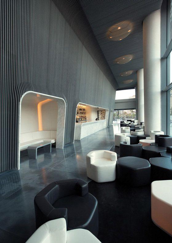 HOTEL | Hotel Puerto America, Madrid, Spain, 2005. Marc Newson Interior. #Hotel #Puerto #America #Madrid #Spain #2005 #Marc #Newson #Interior #Espańa