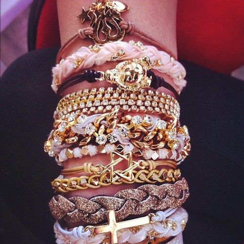 Obsessed with the stacking trend
