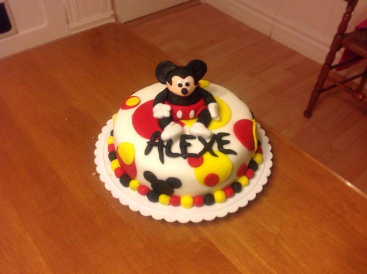 Gâteau MickeyMouse dodu