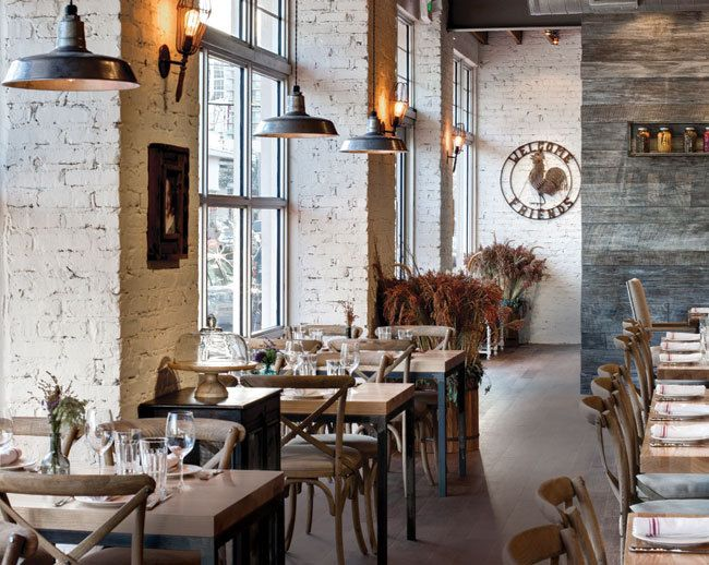 Best ideas about rustic restaurant interior on
