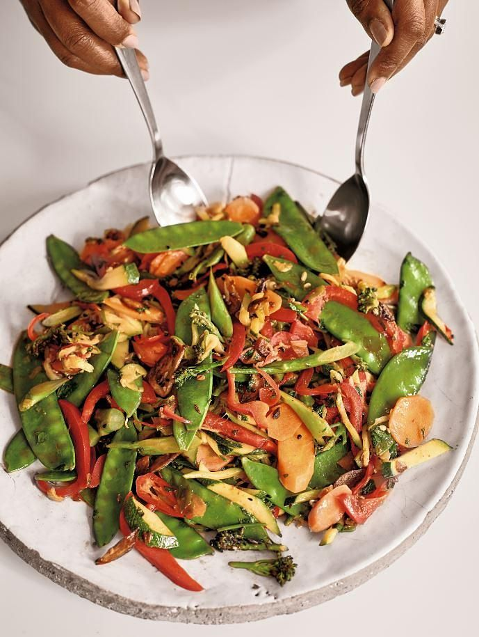 Indian Five-Spice Vegetable Stir-Fry - The Happy Foodie