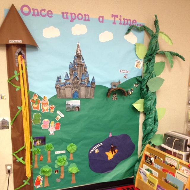 Fairy tale reading center @jill charrier