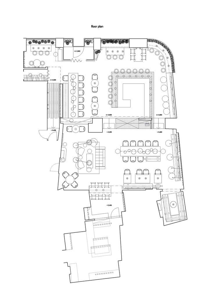 Gallery of gran fierro formafatal 17 restaurant plan restaurant layout and kitchens - Restaurant layout ...