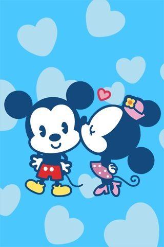 Micky & Miney mouse <3 eles são muito fofo...