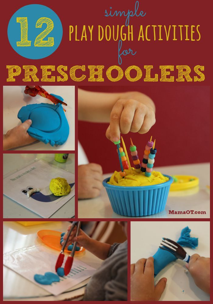 731 best images about fine motor fun games on pinterest for Playdough fine motor skills