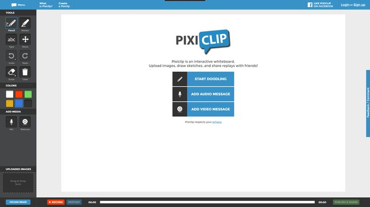Edu-Curator: PixiClip: een leuke webtool om korte uitlegfilmpjes te maken [Flip de Klas]