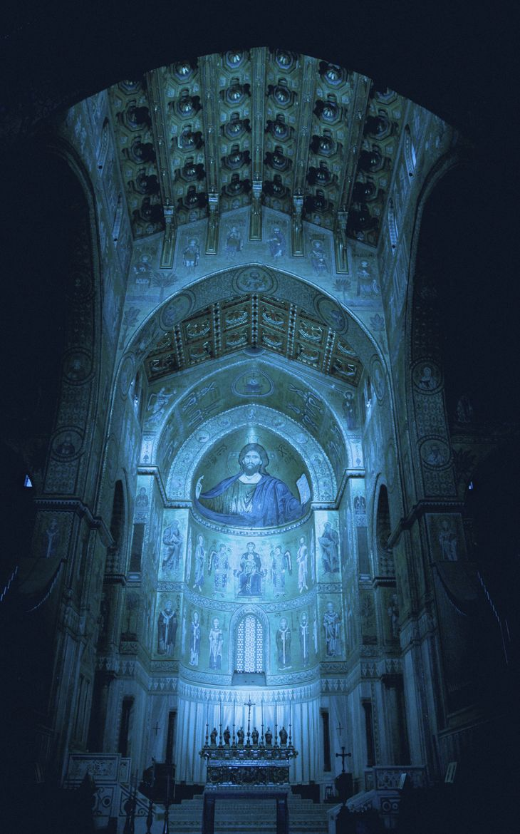 »✿❤Blue❤✿« Cathedral - Palermo - Sicily - Italy