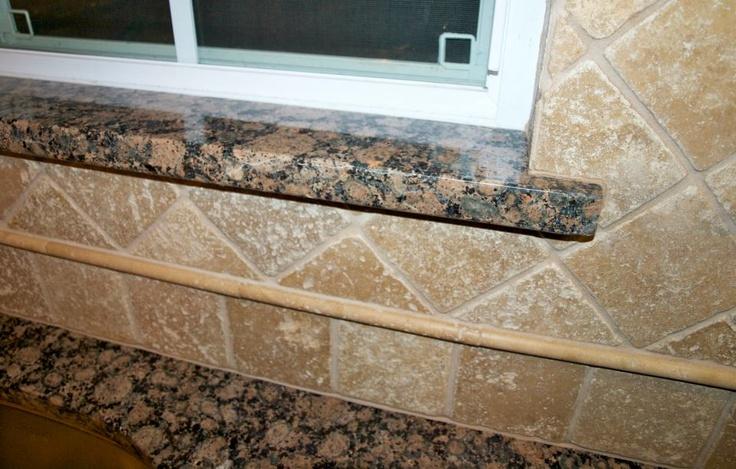brown granite tile backsplash bath ideas kitchen remodel baltic brown