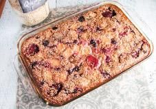 Bake up a pan of this healthy quinoa casserole for an easy hot breakfast on-the-go throughout the week.
