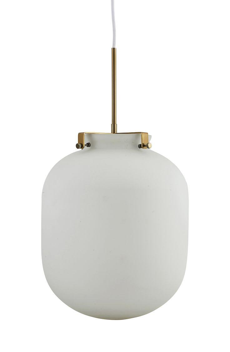 ... Online Shop Günstig Kaufen. Pendelleuchte Ball / Glas   Ø 30 Cm X H 35  Cm, Weiß Von House
