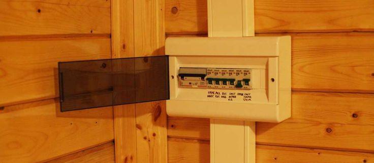 Электропроводка в бане – виды и правила самостоятельного обустройства