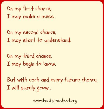 The Chances In Preschool Perspective Keep In And Preschool