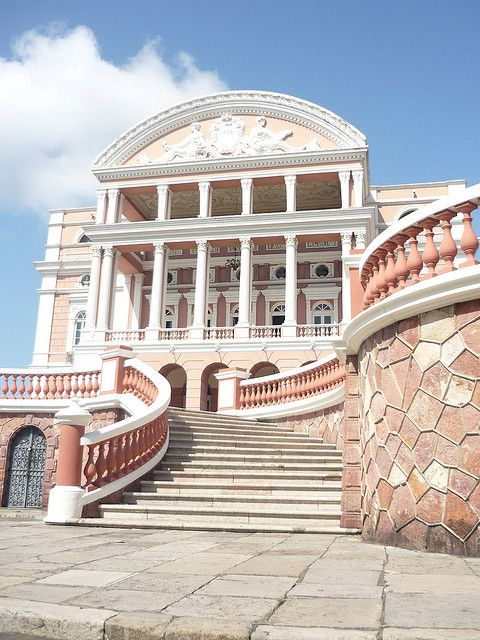 Amazon Theatre, Manaus, Brazil