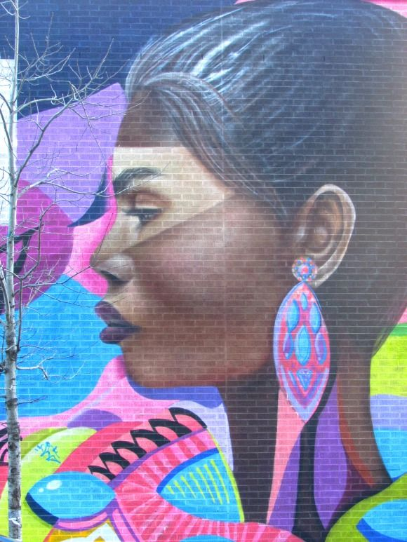 Where to find street art in Manhattan,Harlem, NYC