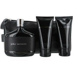 JOHN VARVATOS EDT SPRAY 4.2 OZ & AFTERSHAVE GEL 2.5 OZ & BODY WASH 2.5 OZ MEN by John Varvatos. $65.38. JOHN VARVATOS EDT SPRAY 4.2 OZ & AFTERSHAVE GEL 2.5 OZ & BODY WASH 2.5 OZ MEN. romantic a mix of tamarind leaves, herbs and dates, with spice, woods, leather and vanilla, an alluring scent..