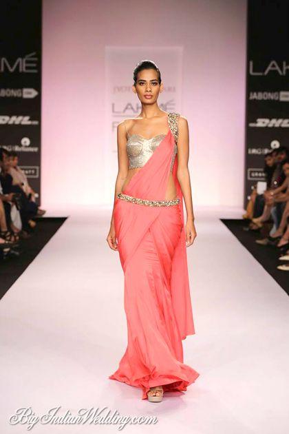 Jyotsna Tiwari signature stitched saree