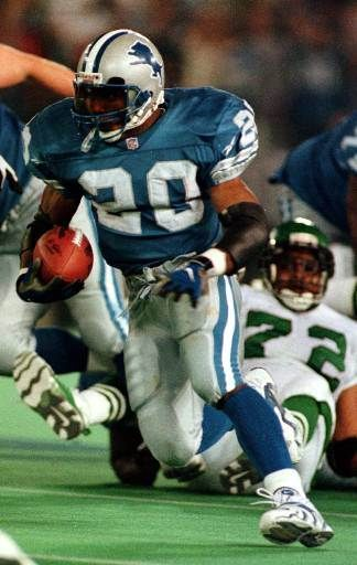 """Barry Sanders, had he remained playing a few more years, he would have had the """"all time"""" rushing record!  This I have NO Doubt! Danny D."""